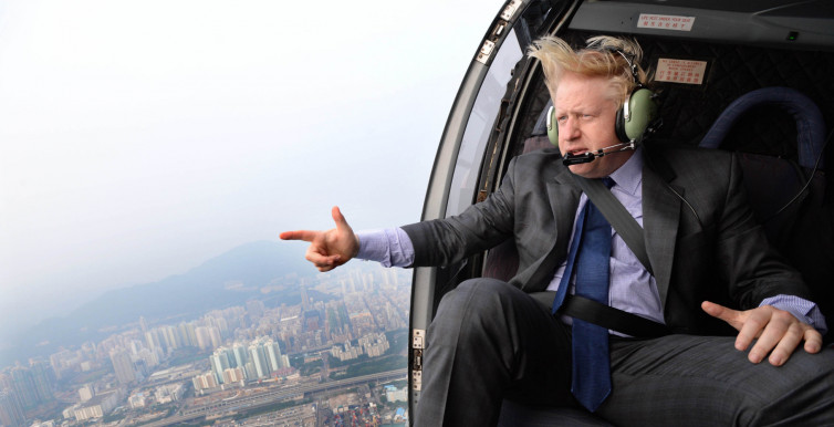 Boris Johnson visits China